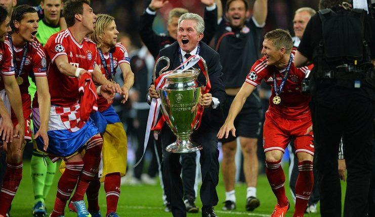Jupp Heynckes menjuarai Liga Champions bersama Real Madrid dan Bayern Munich.