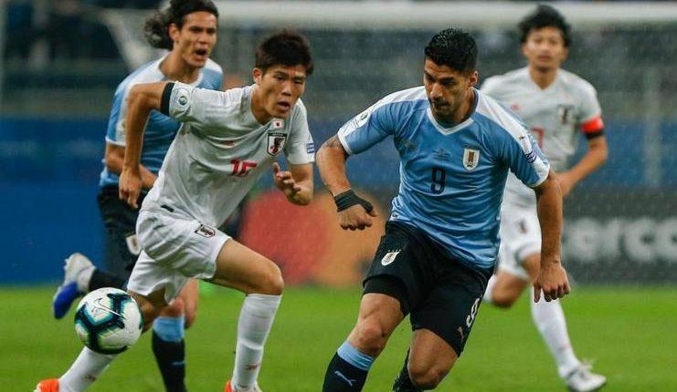 Luis Suarez kembali mencetak gol dalam laga Uruguay vs Jepang pada lanjutan fase grup Copa America 2019.