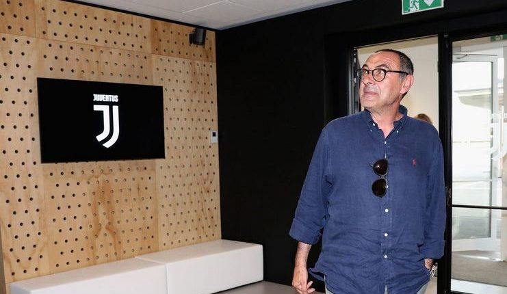 Maurizio Sarri - Juventus - Mirror