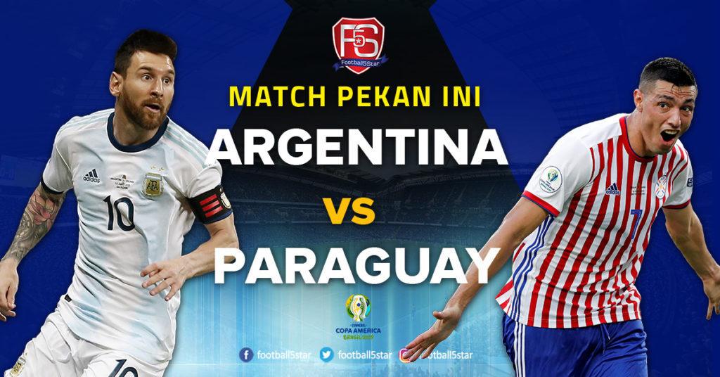 Prediksi Copa America 2019 Argentina vs Paraguay