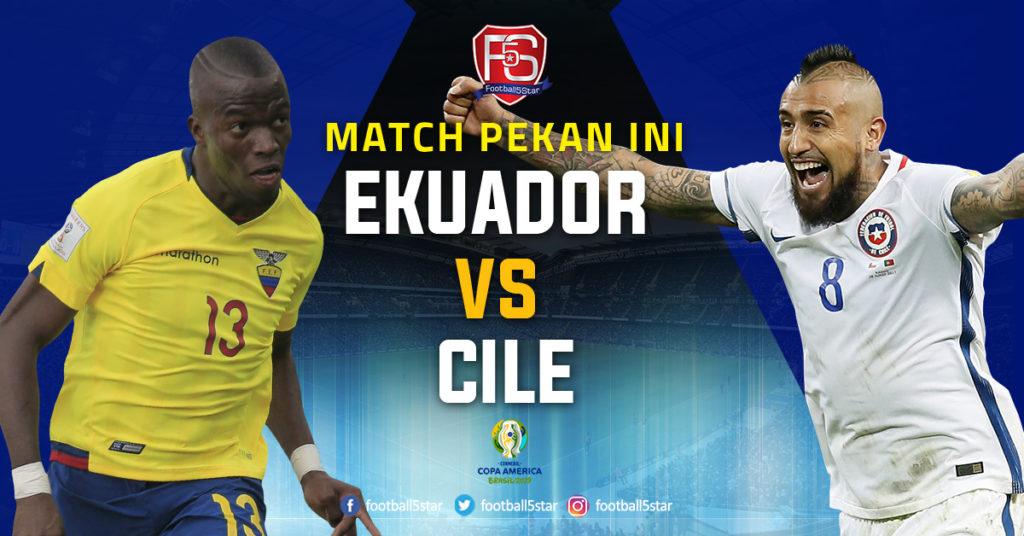 Prediksi Copa America 2019 Ekuador vs Cile