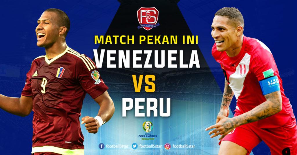 Prediksi Copa America 2019 Venezuela vs Peru