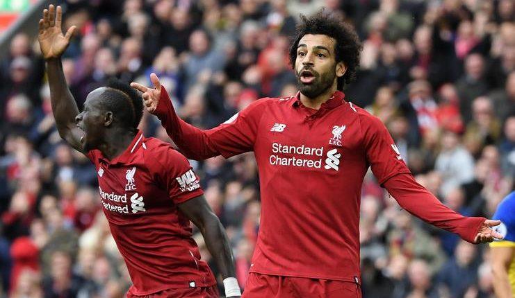 Sadio Mane - Mohamed Salah - Liverpool - Football5star
