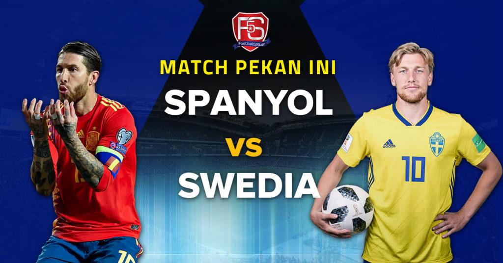 Prediksi Kualifikasi Piala Eropa 2020 Spanyol vs Swedia