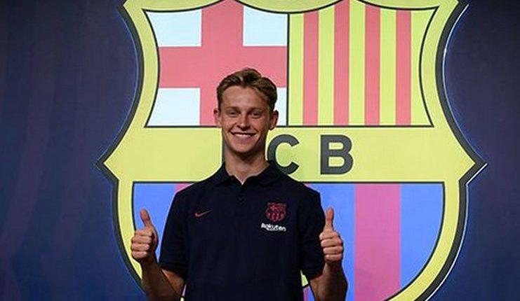 Frenkie De Jong - Barcelona - Football5star - SPORT -