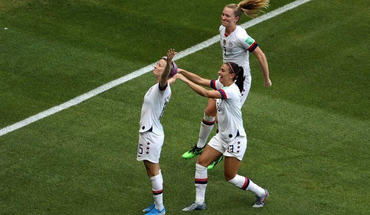 Megan Rapinoe - AS - Piala Dunia Wanita 2019 - Football5star -