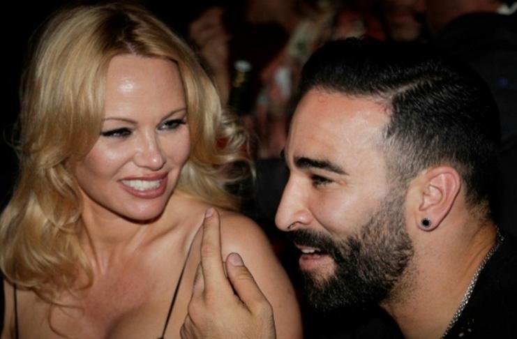 Pamela Anderson Sebut Mantan Bek AC Milan Adil Rami Monster dan Psikopat - AFP