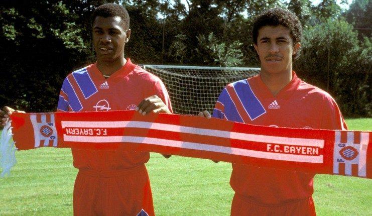 Bernardo dan Mazinho jadi pionir pemain Brasil di Bayern Munich saat datang pada 1991.