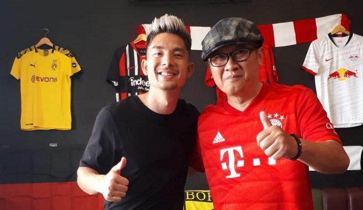 """Kim Kurniawan mengaku sebagai penggemar Bayern Munich. """"Class ="""" wp-image-238985"""