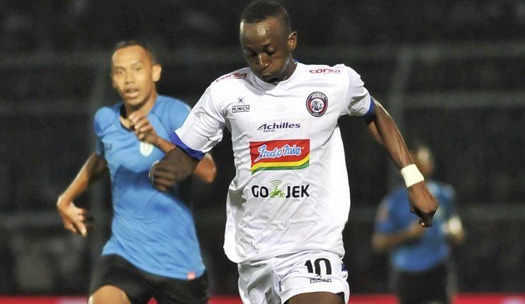 Makan Konate telah cetak 8 gol di Liga 1 2019.