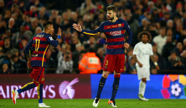 Pique - Neymar - Barcelona - Football5star