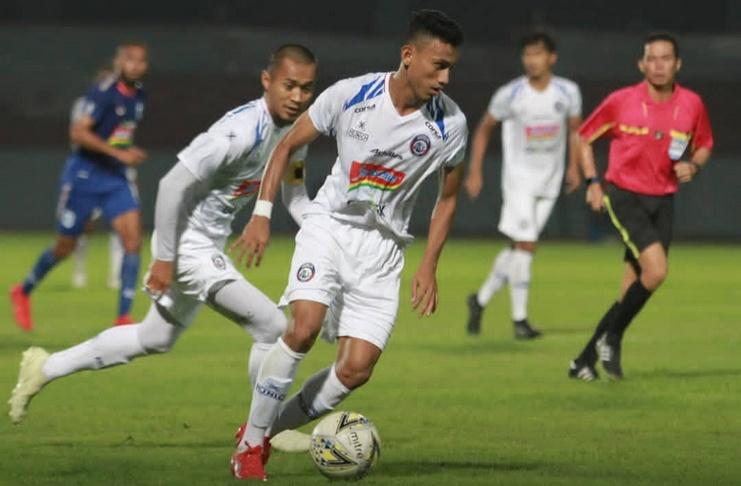 Rivaldi Bawuo - Arema FC - Muhammad Rafli - @aremafcofficial 2