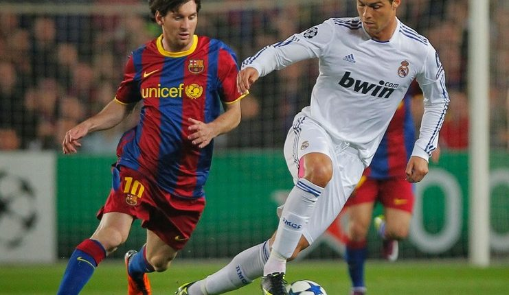 Ronaldo - Messi - Football5star