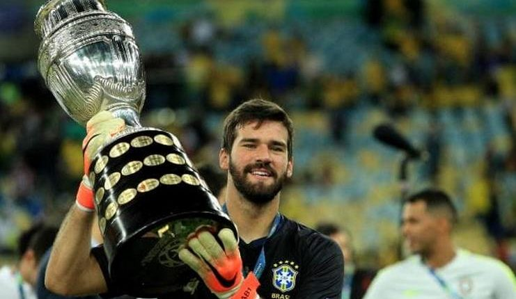 Alisson Becker - Copa America 2019 - Football5star