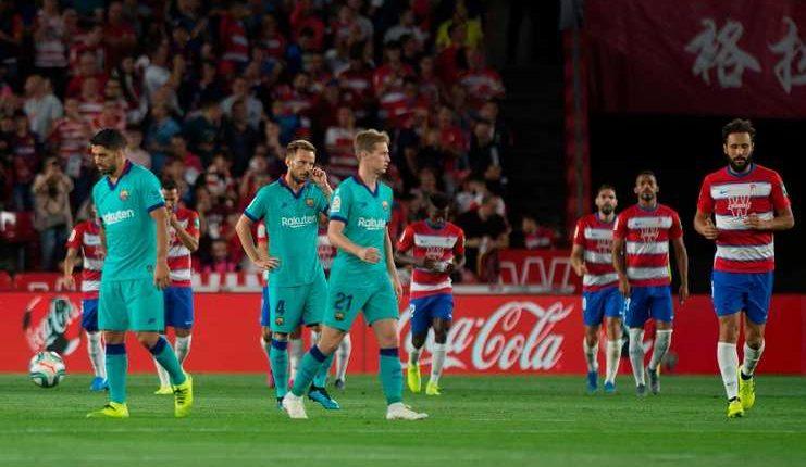 Barcelona kini tak menang dalam tujuh laga tandang pada semua ajang secara beruntun.