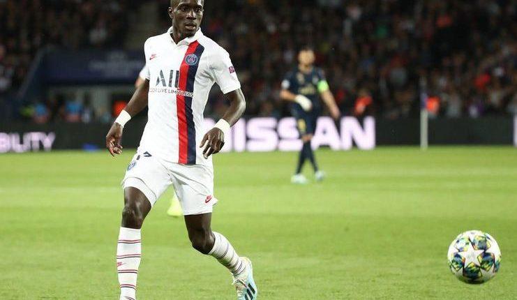 """Idrissa Gueye tampil apik ketika PSG menang 3-0 atas Real Madrid di Matchday I Liga Champions. """"Class ="""" wp-image-248945"""