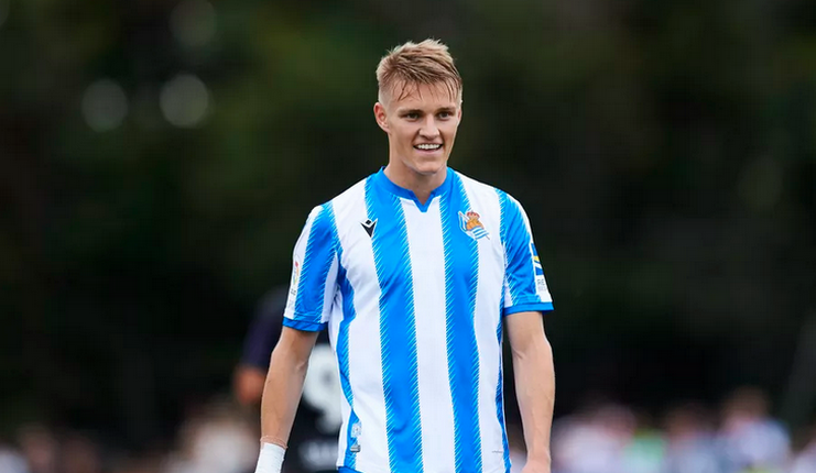 Martin Odegaard - Real Sociedad - Football5star -