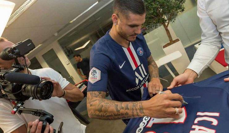 "Mauro Icardi bernama Paolo Di Canio cocok untuk bergabung dengan PSG. ""Class ="" wp-image-246451"