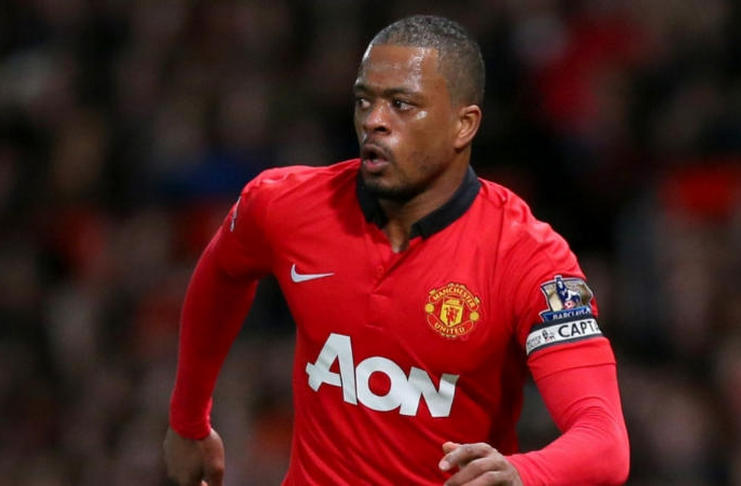 Patrice Evra - Manchester United - fourfourtwo