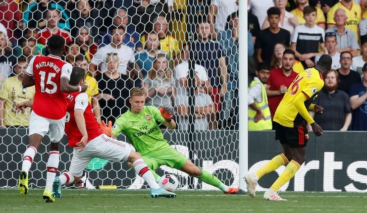 Pierre-Emerick Aubameyang - Arsenal v Watford - premierleaguecom - -
