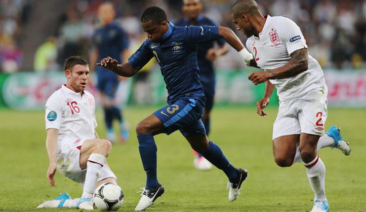 Milner - Evra - Football5star - Timnas