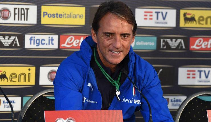 Roberto Mancini - Timnas Italia - Daily Mail
