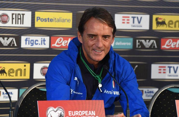 Roberto Mancini - Timnas Italia - Daily Mail - Liechtenstein
