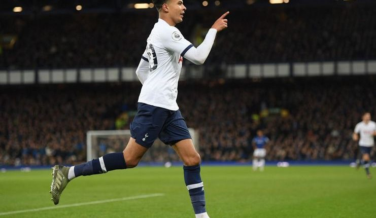 Everton vs Spurs - Football5star - premierleaguecom - Alli