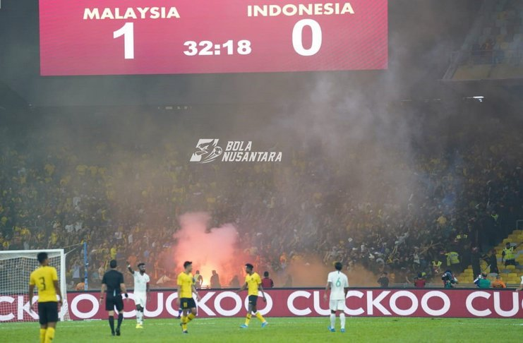 Malaysia vs Indonesia - suporter - Irsyad, Bola Nusantara