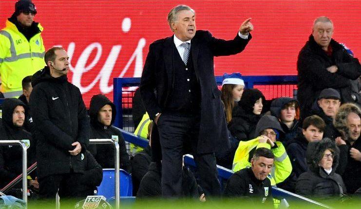 Carlo Ancelotti tak puas terhadap performa Dominic Calvert-Lewin meskipun jadi pahlawan Everton saat lawan Burnley