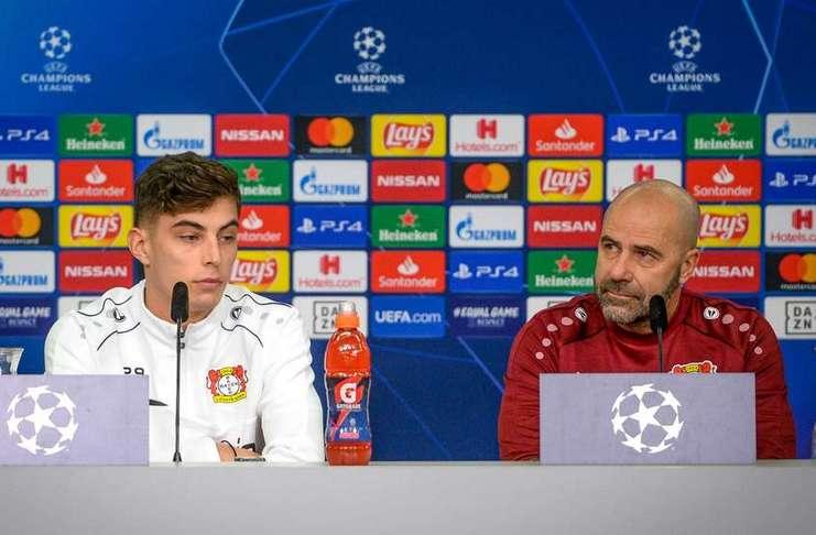 Peter Bosz - Bayer Leverkusen - Atletico Madrid - Liga Champions - @bayer04_en 2