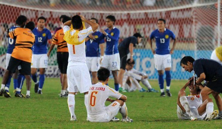 Timnas U-23 Vietnam kalah dari Malaysia pada final SEA Games 2009