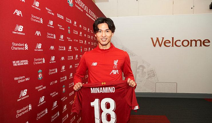 Liverpool resmi merekrut Takumi Minamino