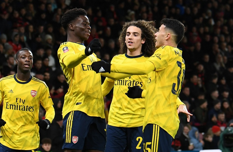 Arsenal vs Bournemouth - Piala FA - @Arsenal