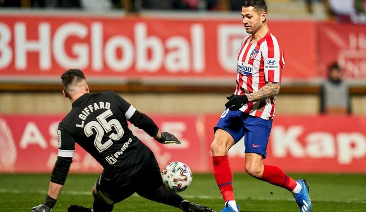 Atletico Madrid hanya mencetak satu gol dari 21 tembakan yang dilepaskan sepanjang laga lawan Cultural Leonesa.