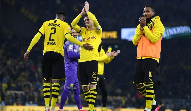 "Borussia Dortmund akhirnya kembali ke clean sheet saat menghadapi Eintracht Frankfurt. ""Class ="" wp-image-286707"