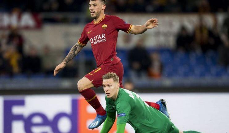 Carles Perez jadi pahlawan kemenangan AS Roma atas KAA Gent pada leg I babak 32-besar Liga Europa.