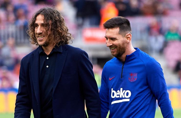 Carles Puyol - Lionel Messi - Barcelona - Goal