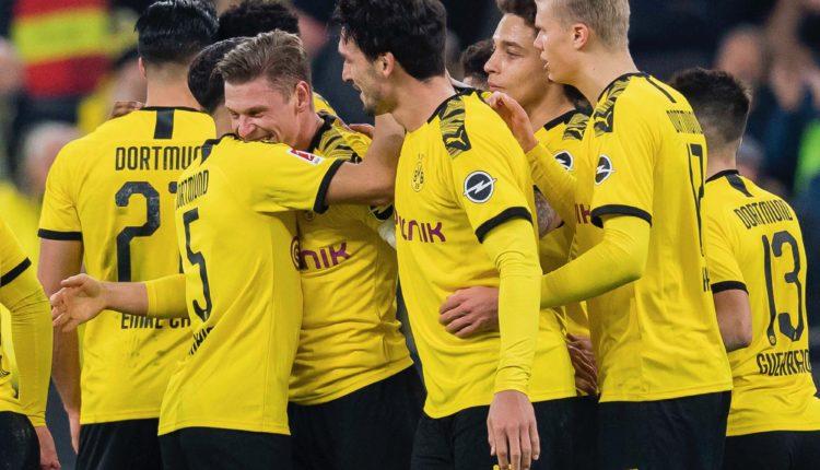 Dortmund vs Frankfurt - Jadon Sancho - Erling Haaland - Bundesliga - @BVB