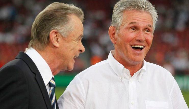 Jupp Heynckes dan Ottmar Hitzfeld sepakat Bayern Munich harus segera memastikan masa depan Hansi Flick.