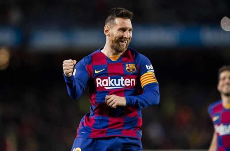 Lionel Messi Barcelona Getty Images