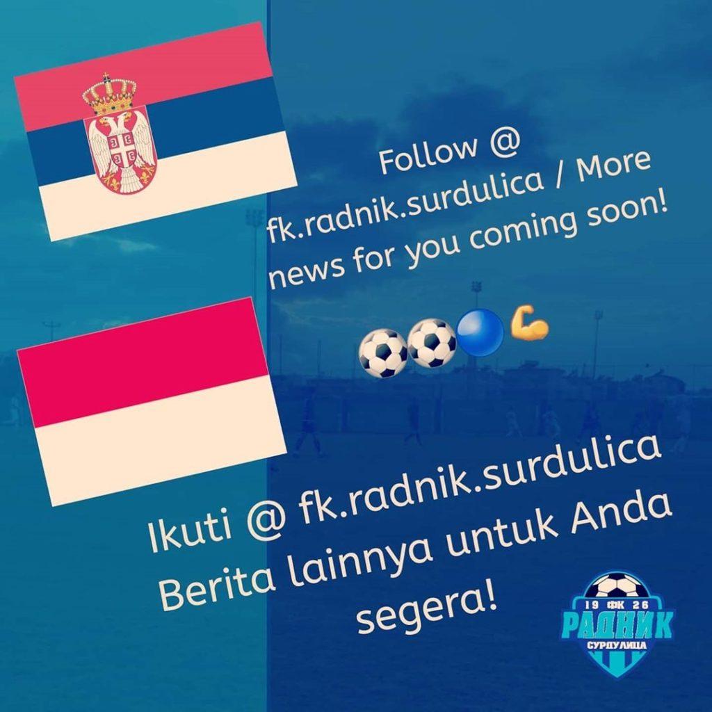 Witan Sulaiman Bergabung, FK Radnik Surdulica Jadi Berbahasa Indonesia
