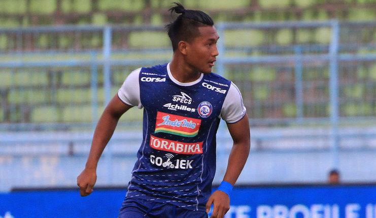 Ahmad Nur Hadianto mencetak 6 gol sebagai pemain pengganti pada pentas Liga 1.
