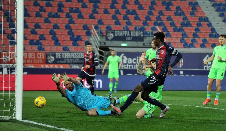 Lazio menderita kekalahan beruntun dari Bayern Munich dan Bologna.